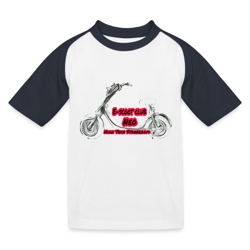 Neorider Scooter Club - T-shirt baseball Enfant
