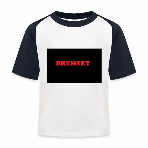 bremsey - Baseboll-T-shirt barn
