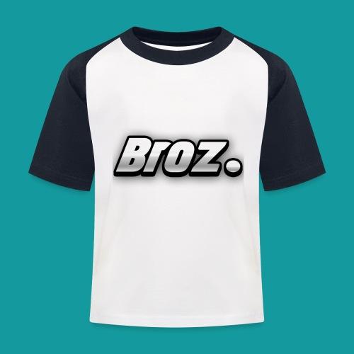 Broz. - Kinderen baseball T-shirt