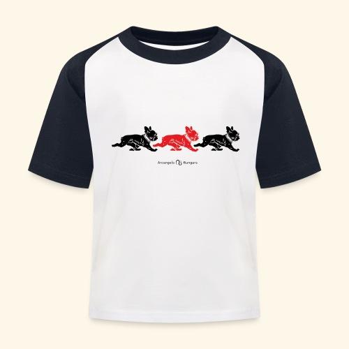 frenchies BR - T-shirt baseball Enfant