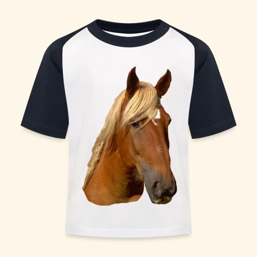 Horse Head - Kids' Baseball T-Shirt