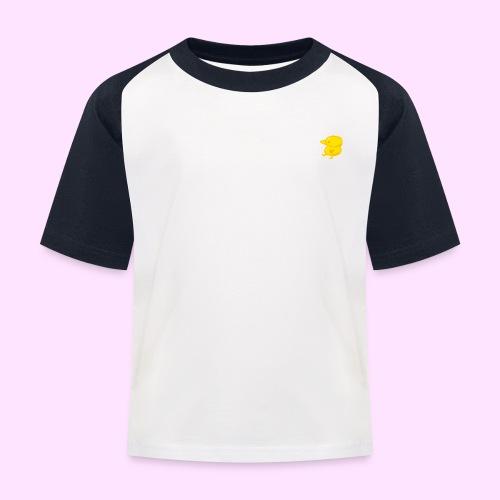 Golden Pinkguin - Baseball T-shirt til børn