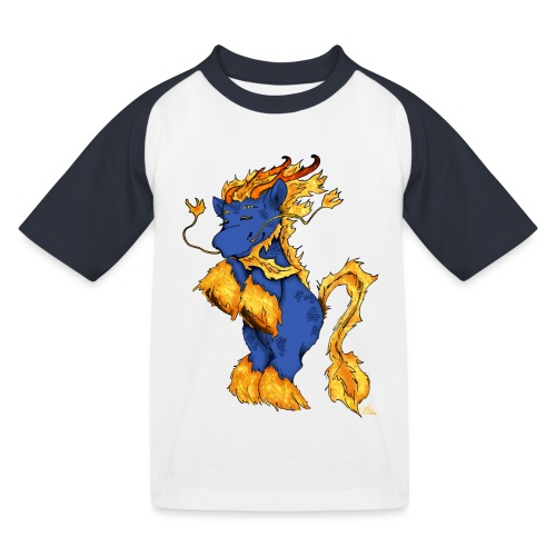 Quilin / Kirin - Kinder Baseball T-Shirt