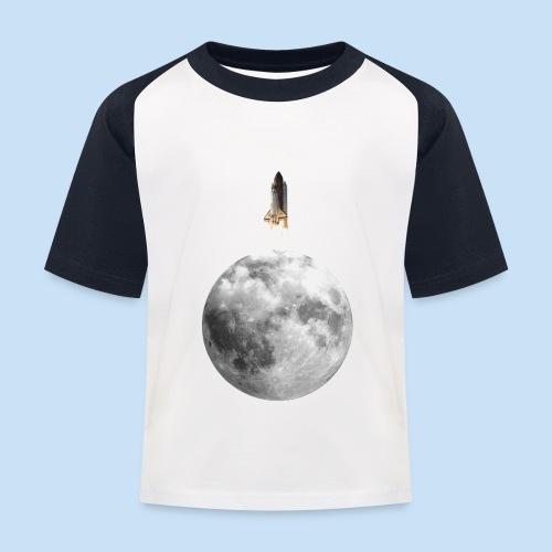 Mondrakete - Kinder Baseball T-Shirt
