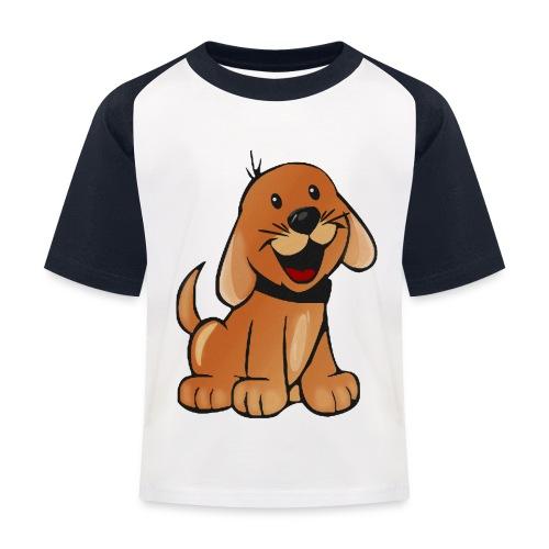 cartoon dog - Maglietta da baseball per bambini