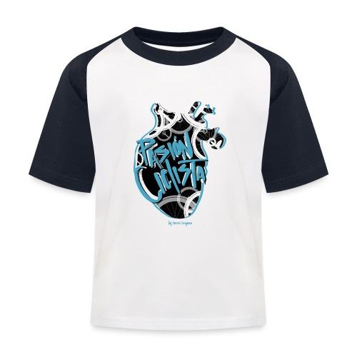 PASIÓN CICLISTA - Camiseta béisbol niño