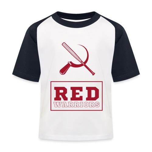 Red Warriors Logo2 - T-shirt baseball Enfant