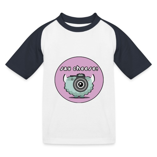 Foton The Monster Camera - Kids' Baseball T-Shirt