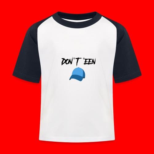 AYungXhulooo - Atlanta Talk - Don't Een Cap - Kids' Baseball T-Shirt