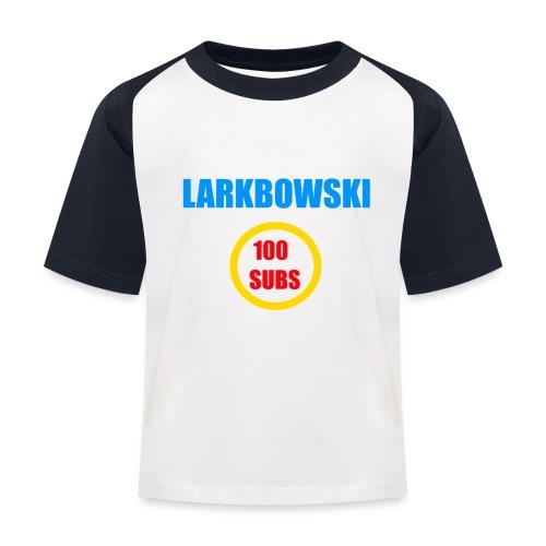 100 subs speicial - Kids' Baseball T-Shirt