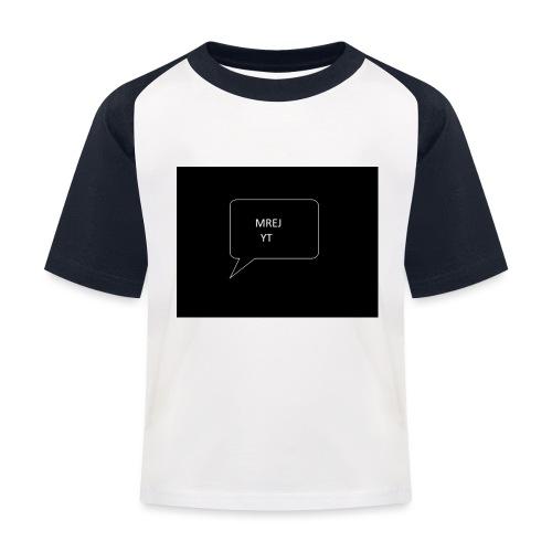 MREJYT T-sjorta - Baseball-T-skjorte for barn