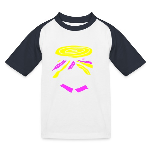 Psy-stache - Kinderen baseball T-shirt