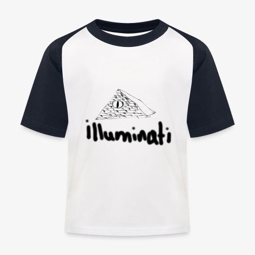 illuminati - Kids' Baseball T-Shirt