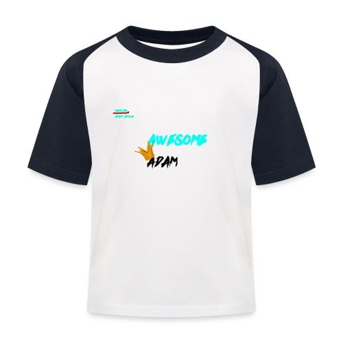 king awesome - Kids' Baseball T-Shirt