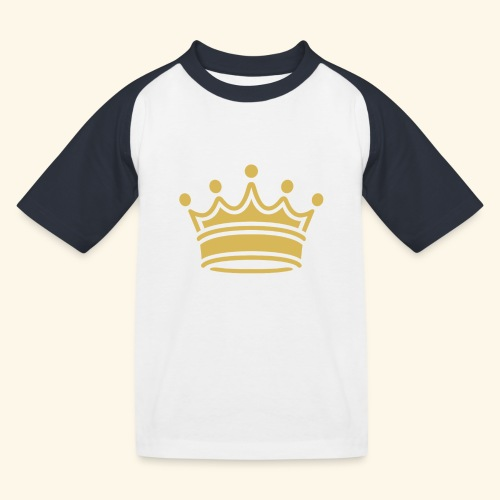 crown - Kids' Baseball T-Shirt