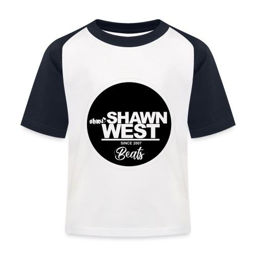 SHAWN WEST BUTTON - Kinder Baseball T-Shirt