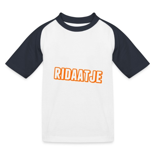 Ridaatje T-Shirt. - Kinderen baseball T-shirt