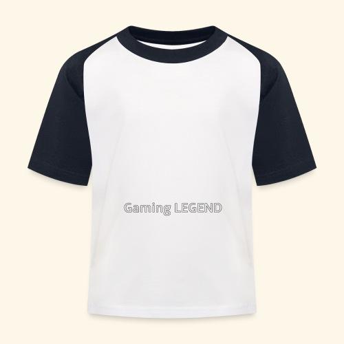 Gaming LEGEND - Kinderen baseball T-shirt