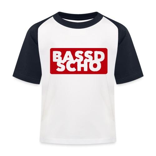 BASSD SCHO - Kinder Baseball T-Shirt
