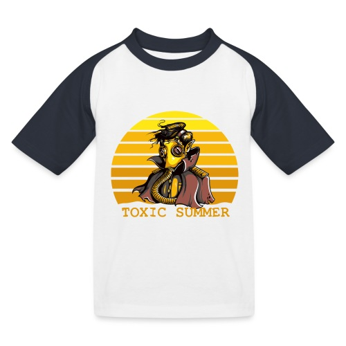 Toxic Summer - Camiseta béisbol niño