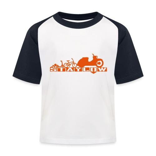 STAYLOW BMX - Kinder Baseball T-Shirt
