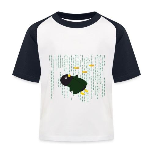 Pingouin Bullet Time - T-shirt baseball Enfant