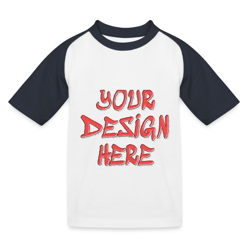 TextFX - Kids' Baseball T-Shirt