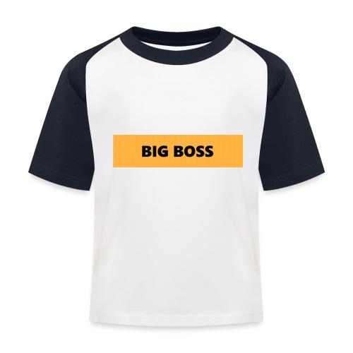 BIG BOSS - Lasten pesäpallo  -t-paita
