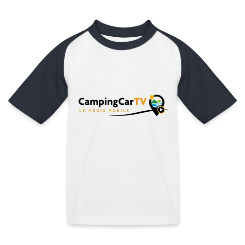 LOGO CCTV - T-shirt baseball Enfant
