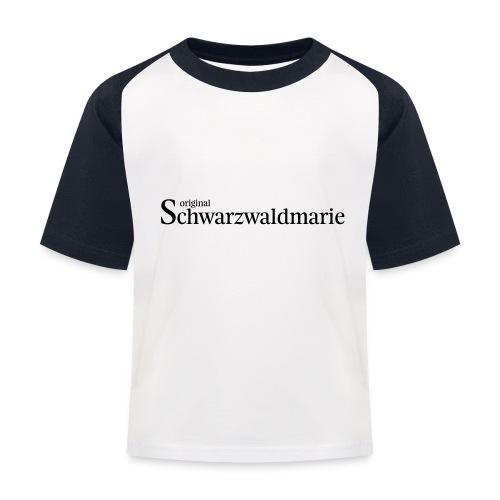 Schwarzwaldmarie - Kinder Baseball T-Shirt