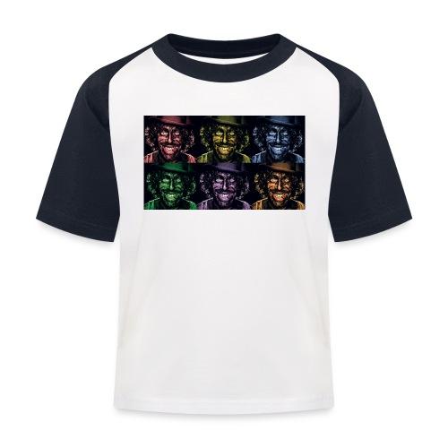 Blake Smiles - Kids' Baseball T-Shirt