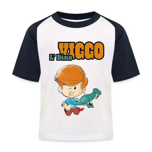 LDinoViggo Logo total - Baseball T-shirt til børn