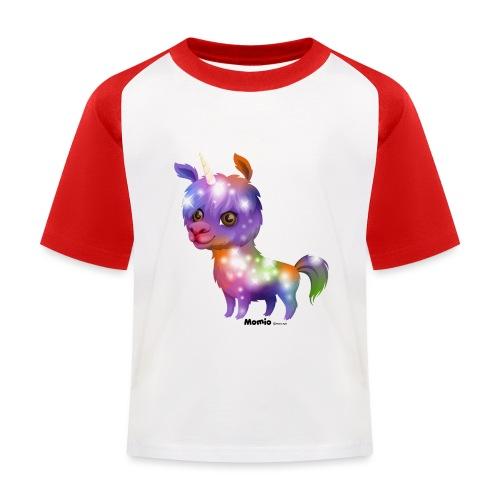 Llamacorn - Kinderen baseball T-shirt