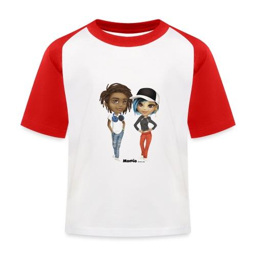 Maya & Noa - Kinderen baseball T-shirt