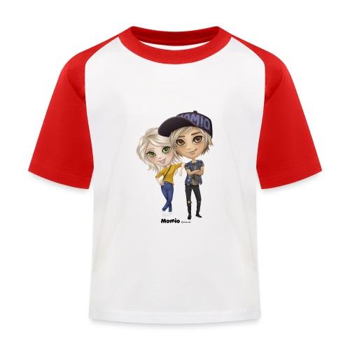 Emily & Lucas - Kinderen baseball T-shirt