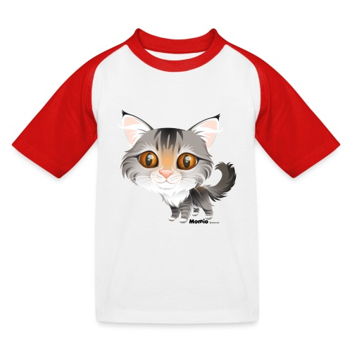 Kat - Kinderen baseball T-shirt