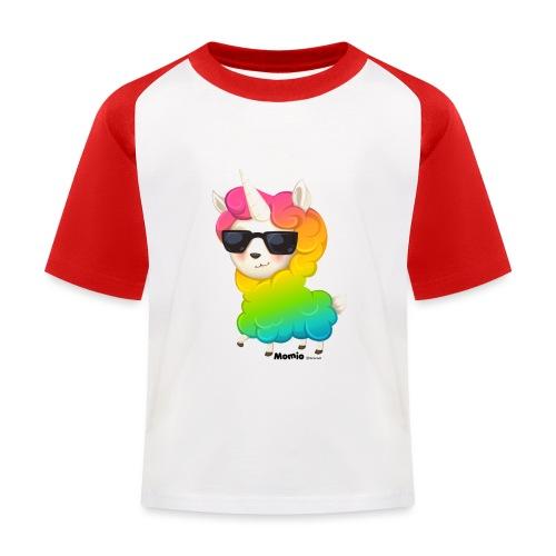 Regenboog animo - Kinderen baseball T-shirt
