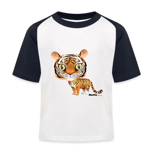 Tijger - Kinderen baseball T-shirt