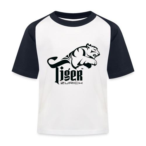 TIGER ZURICH digitaltransfer - Kinder Baseball T-Shirt