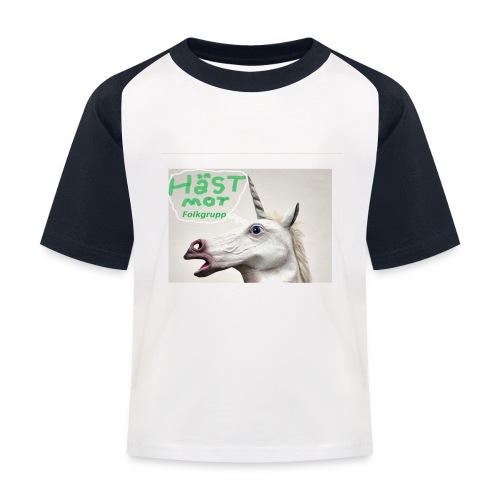 haest mot folkgrupp - Baseboll-T-shirt barn