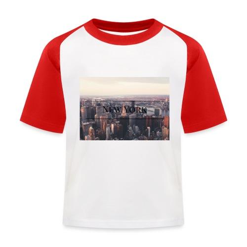 spreadshirt - T-shirt baseball Enfant