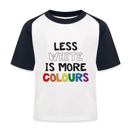 COLOURS - Baseboll-T-shirt barn