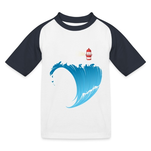 Ostseeherz - Kinder Baseball T-Shirt
