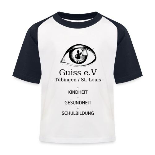 Guiss e.V - Kinder Baseball T-Shirt