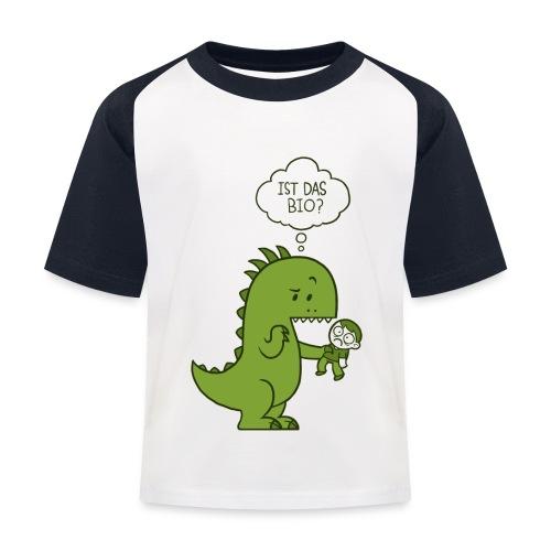 Bio-Dinosaurier - Kinder Baseball T-Shirt