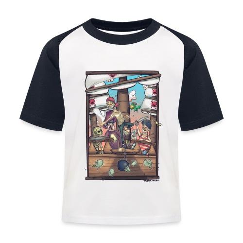 les pirates - T-shirt baseball Enfant