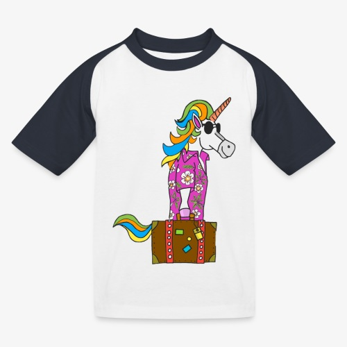 Unicorn trip - T-shirt baseball Enfant