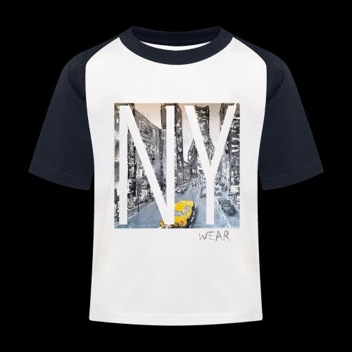 TIME SQUARE - Kinder Baseball T-Shirt