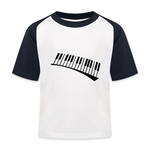 Piano - Camiseta béisbol niño