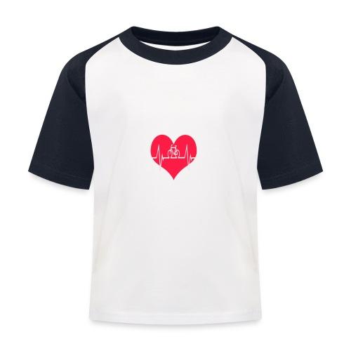 I love my Bike - Kids' Baseball T-Shirt